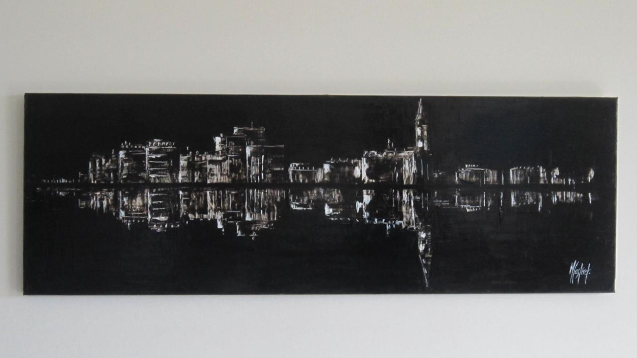 SILLON BLACK AND WHITE  (120 X 40)