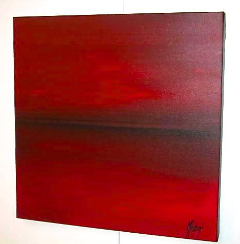 ROUGE HORIZON     (50X50)
