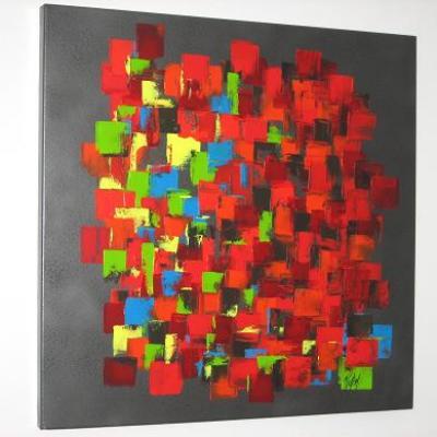 L'abstrait par le mélange des couleurs et le plaisir des formes