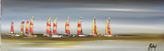 LES VOILES DE ST LU  (60 X 20)