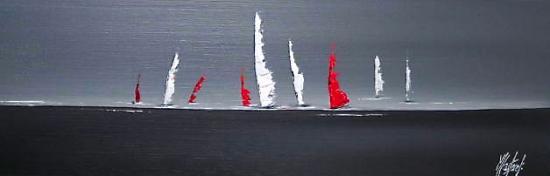 LES VOILES      (60X20)