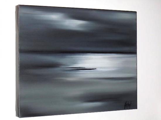 REFLETS BLANCS       ( 50 X 40)