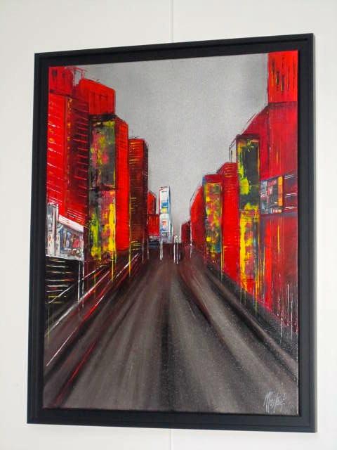 STREET ART         (60X80 encadré)