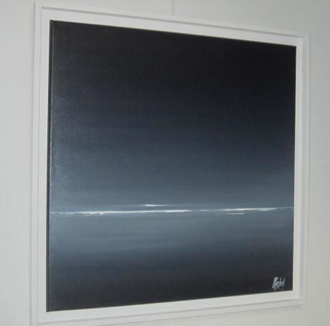 ZEN      (60X60 encadré)